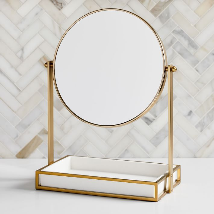 West Elm Vanity Mirror