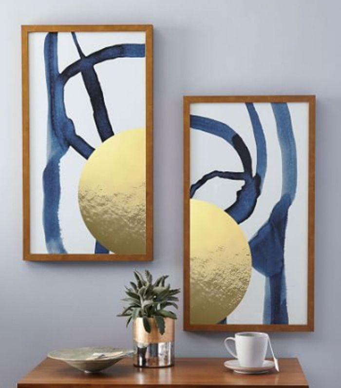 West Elm The Arts Capsule Ink Diptych