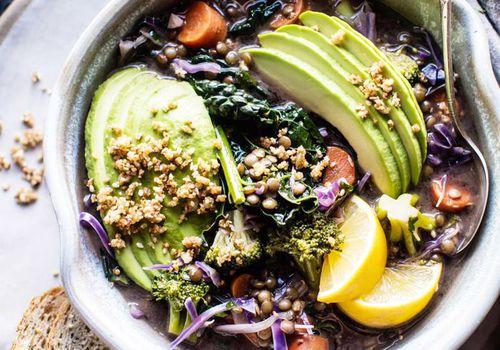 receta de sopa de verduras baja en carbohidratos