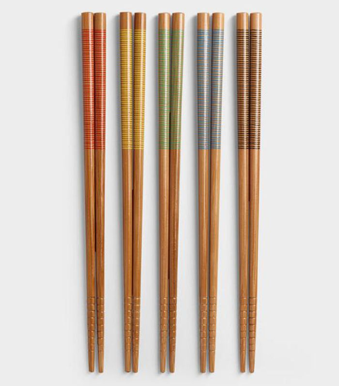 Cost Plus World Market Stripe Chopsticks