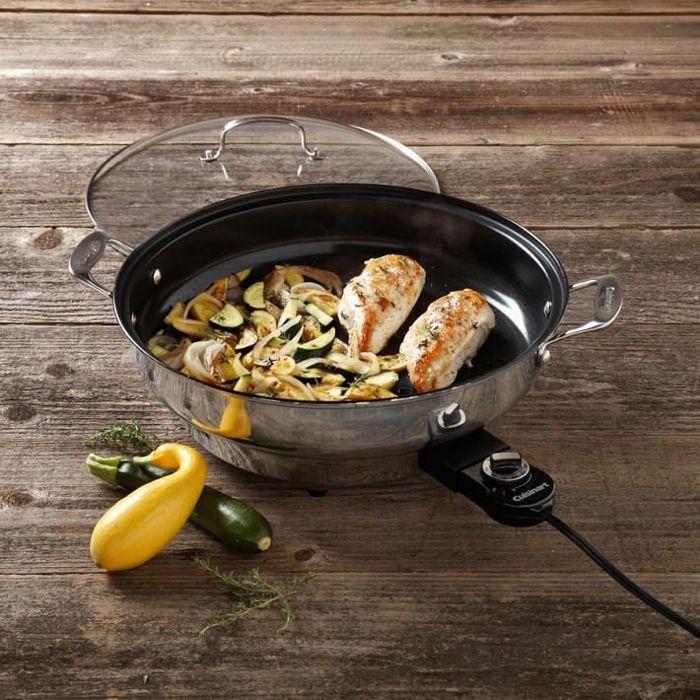 Cuisinart Green Gourmet Electric Skillet