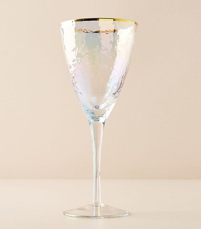 Lustered Wine Glass