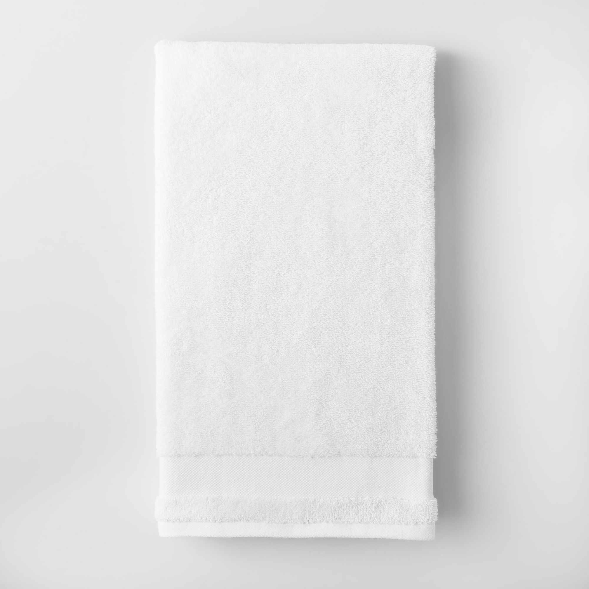Made By Design White Bath Towel