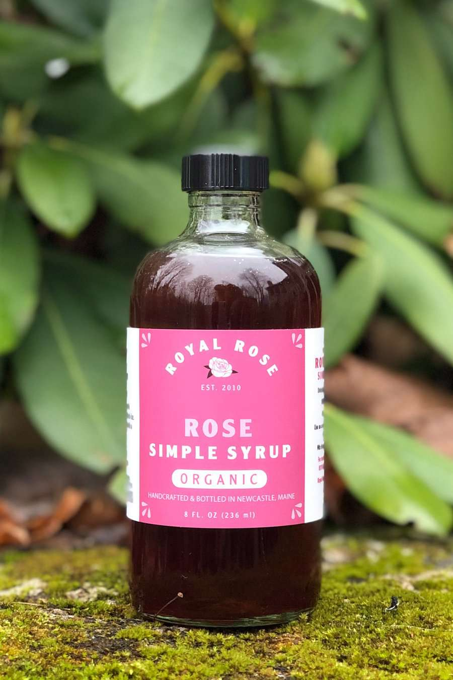 Rose Organic Simple Syrup