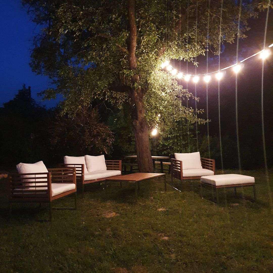 outdoor party ideas evening