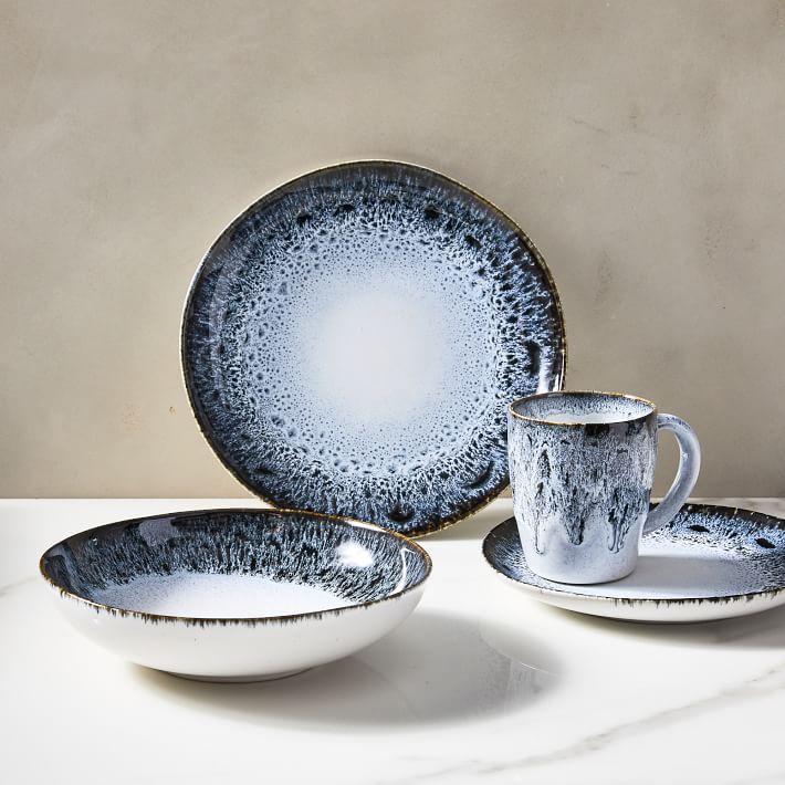 Reactive Glaze Stoneware Dinnerware, West Elm