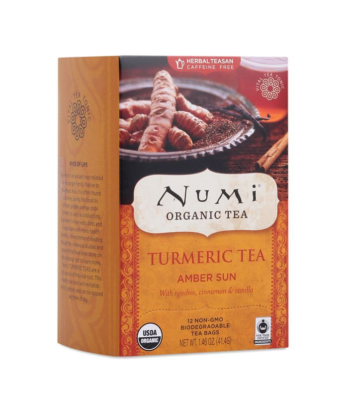 Numi Organic Tea Turmeric Tea Amber Sun