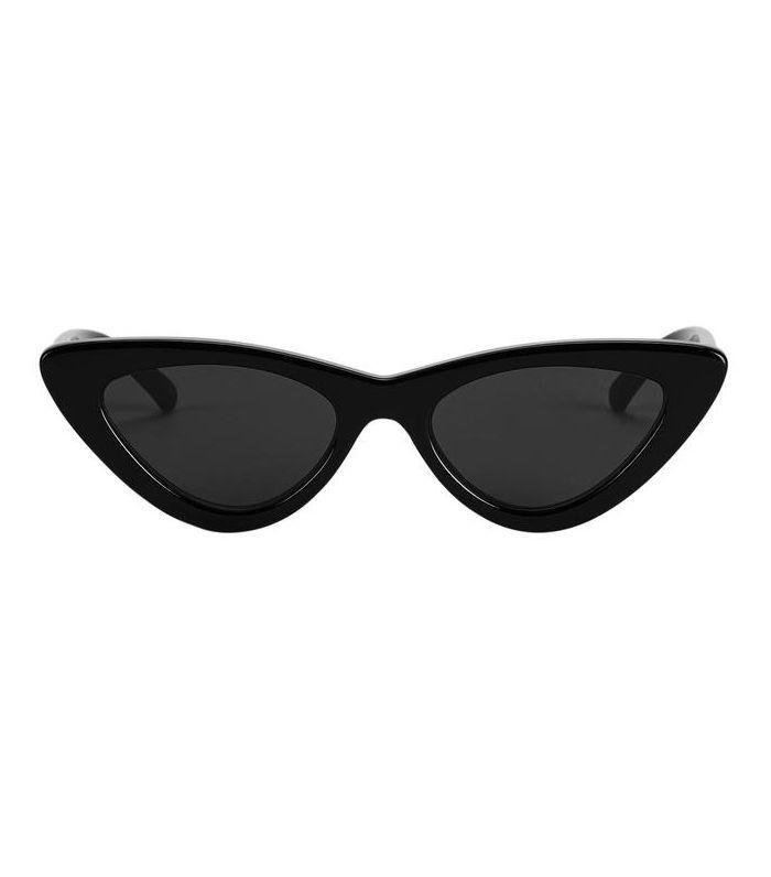 Le Specs x Adam Selman The Last Lolita Black Sunglasses Black 1SIZE