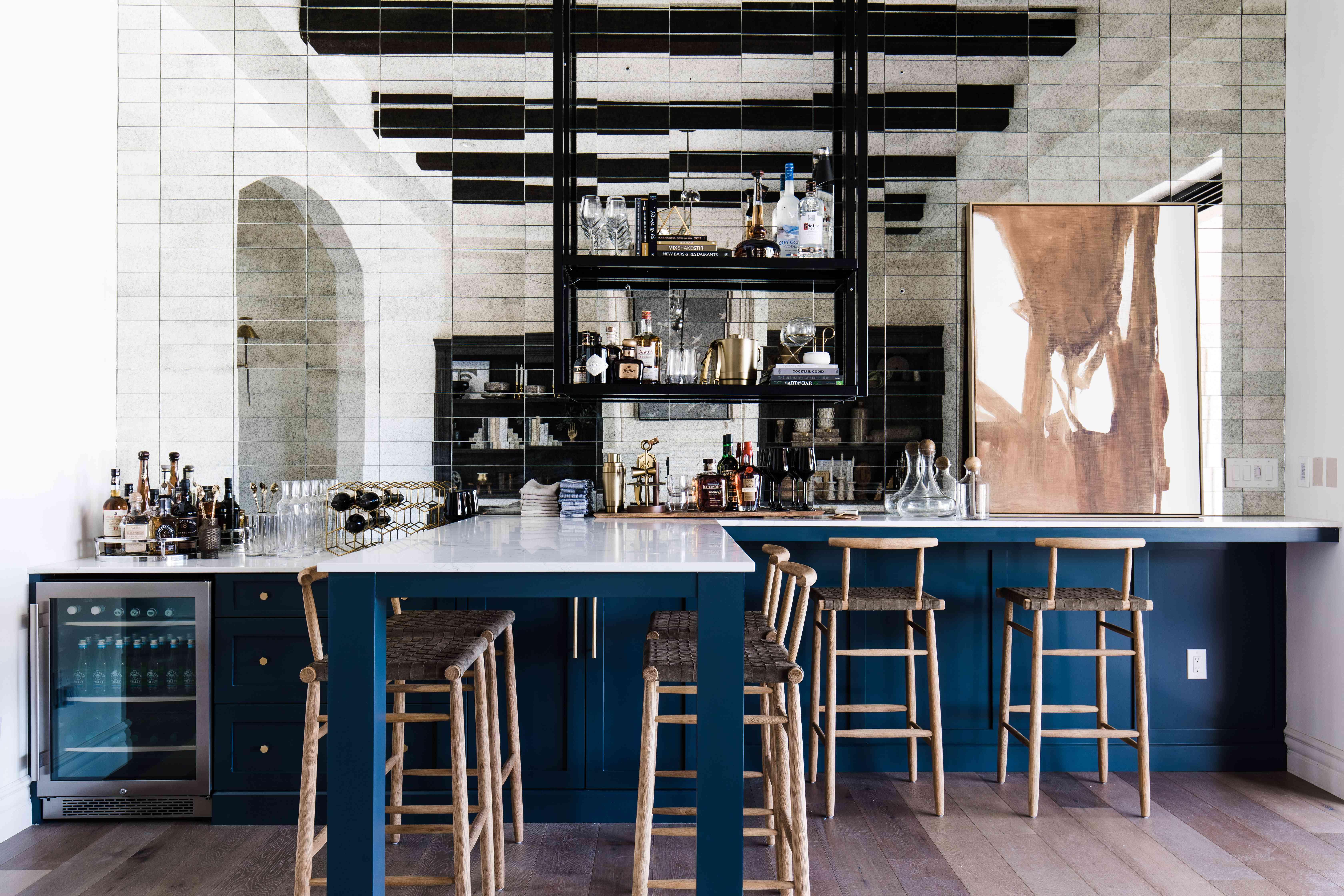 arizona home tour - home bar