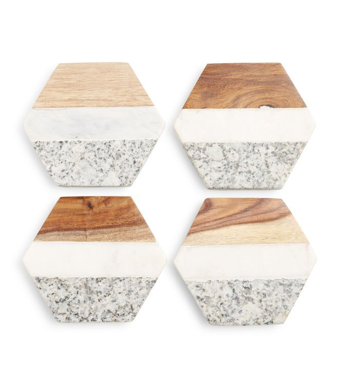 Nordstrom At Home Set Of 4 Coasters