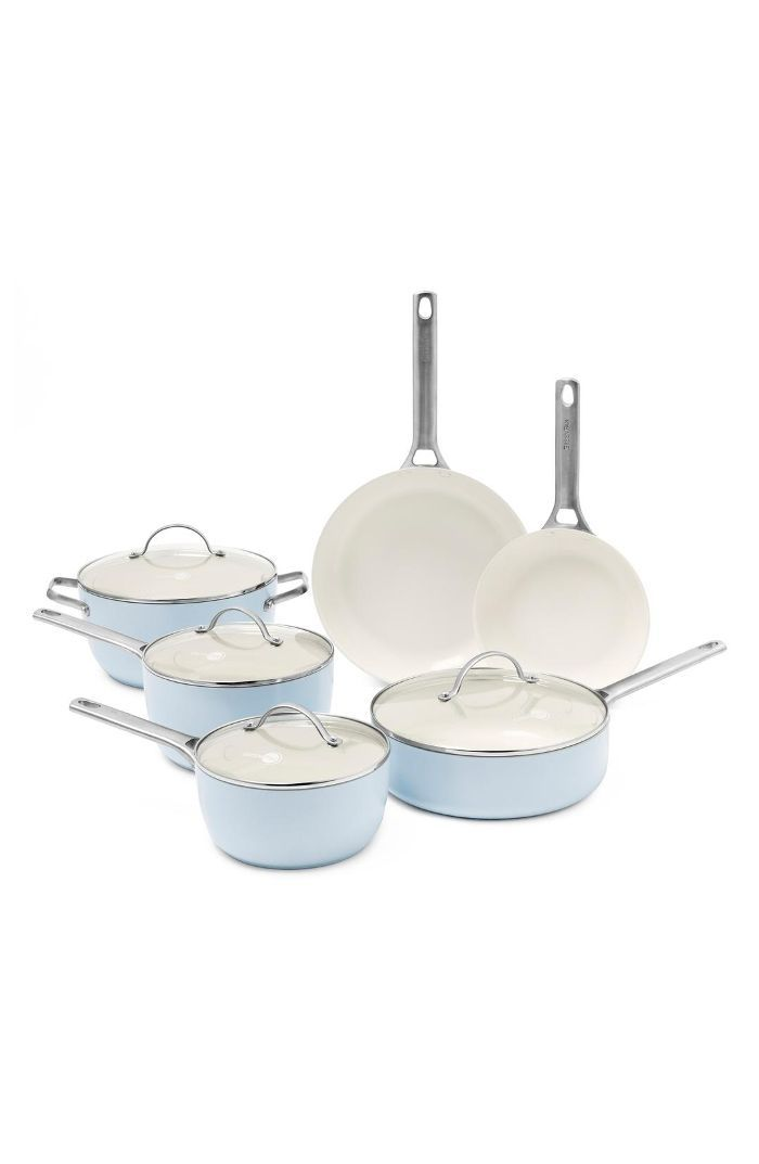 Greenpan Padova 10-Piece Ceramic Nonstick Cookware Set