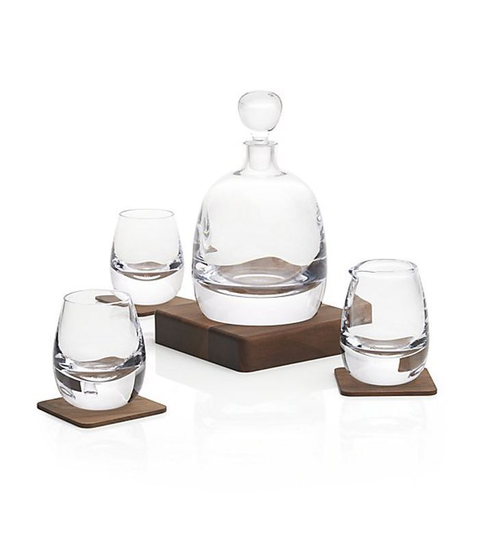 Crate and Barrel Islay Whiskey Set