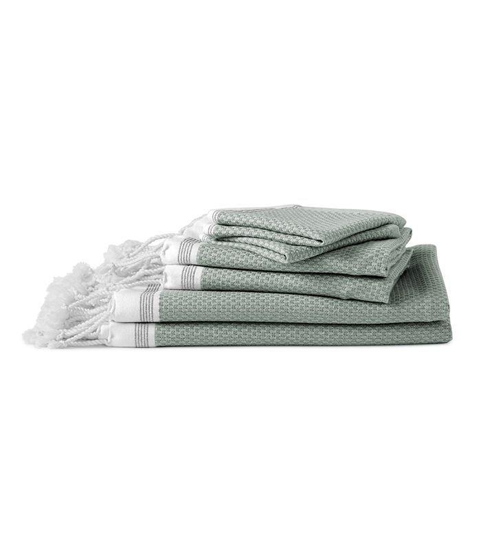 Mediterranean Organic Cotton Bath Towel