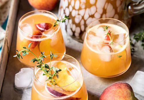 Bourbon Lemonade Big Batch Cocktail