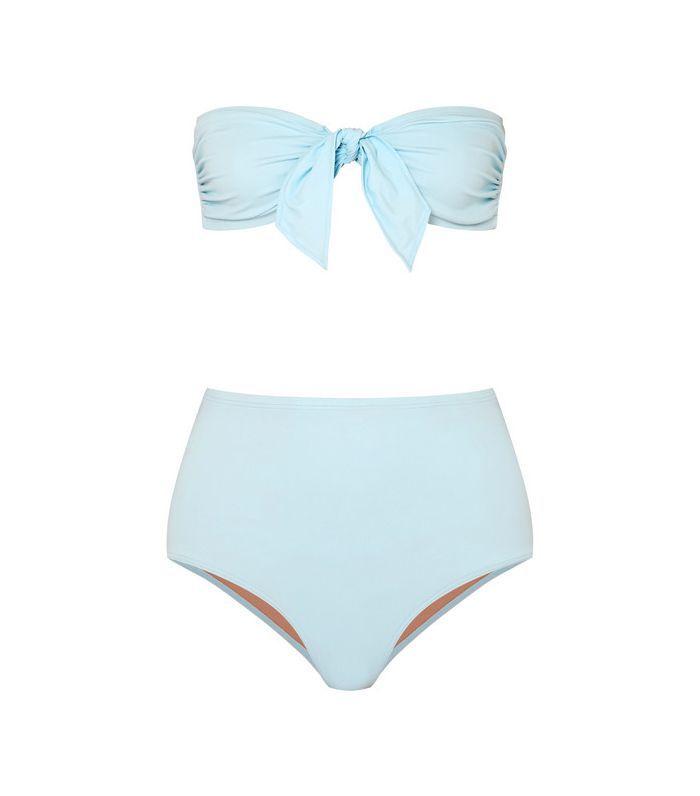 Jackie Knotted Bandeau Bikini