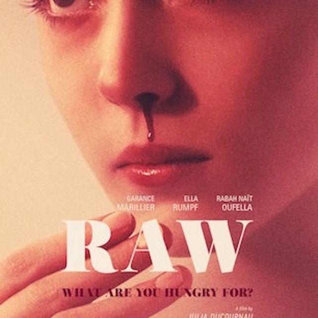 Raw (2016) movie poster.