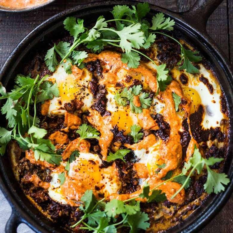 Huevos marroquíes