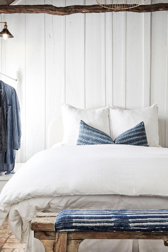 modern farmhouse—master bedroom