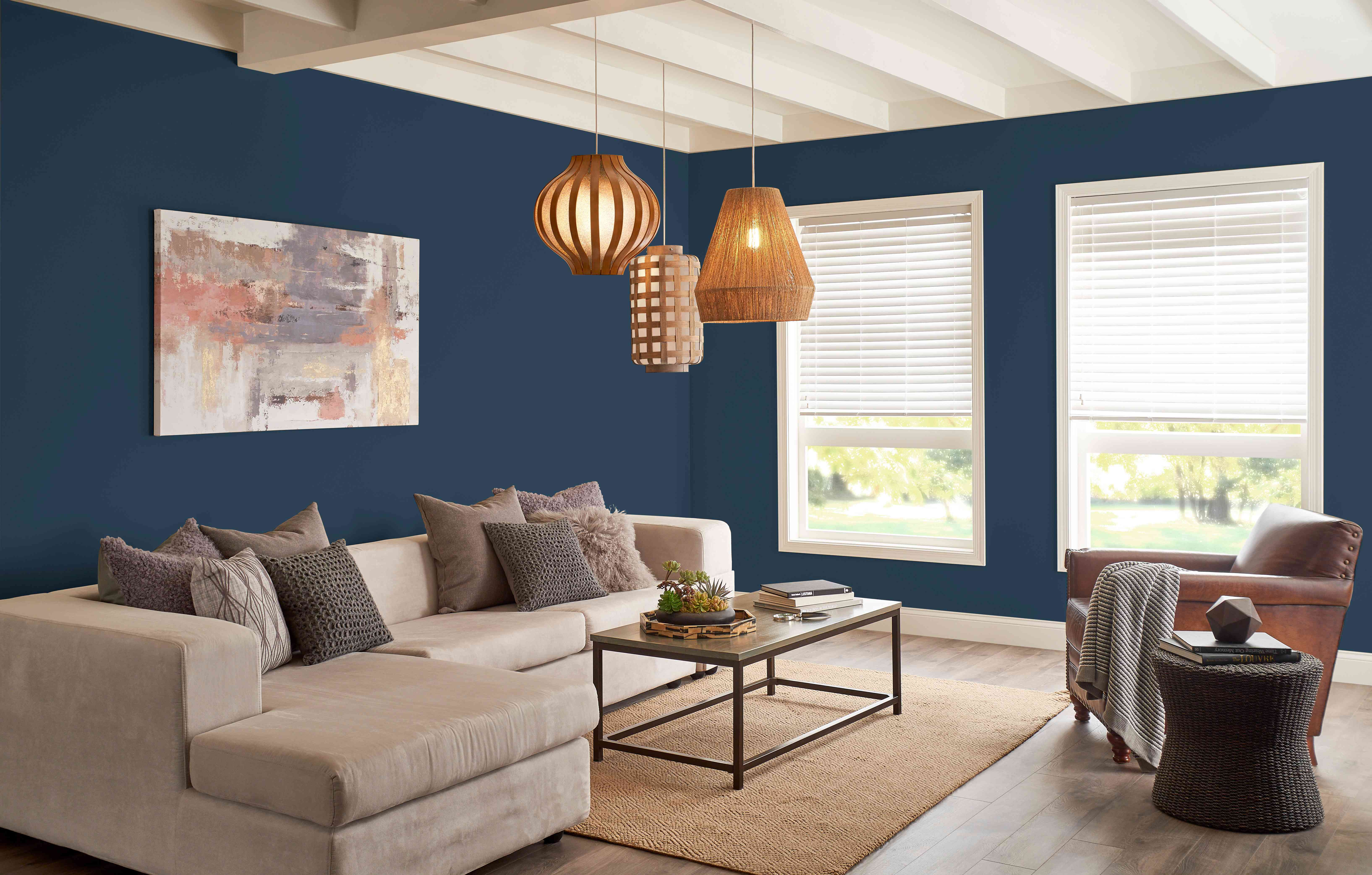 The 18 Most Popular Paint Colors Right Now, Behr Paint Ideas For Living Rooms