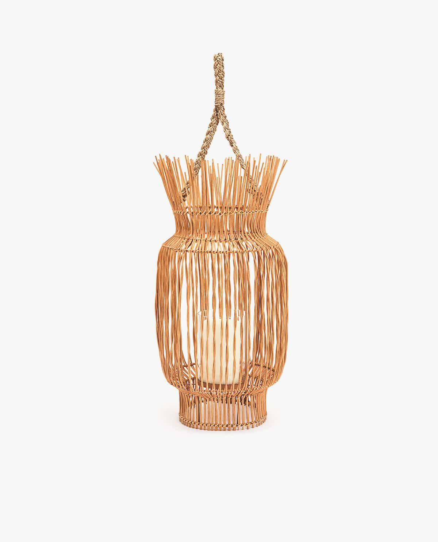 Woven Rattan Lantern