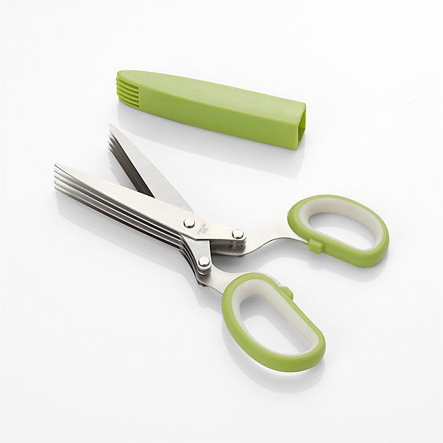 Crate & Barrel 5-Blade Herb Scissors