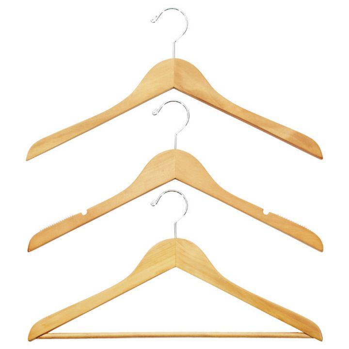 Basic Natural Wood Hangers