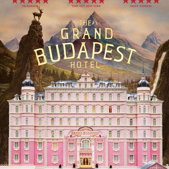 Decoración inspirada en Wes Anderson - The Grand Budapest Hotel