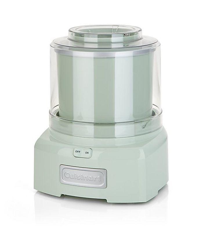 ® Pistachio Green Ice Cream Maker/Frozen Yogurt Maker - Crate and Barrel