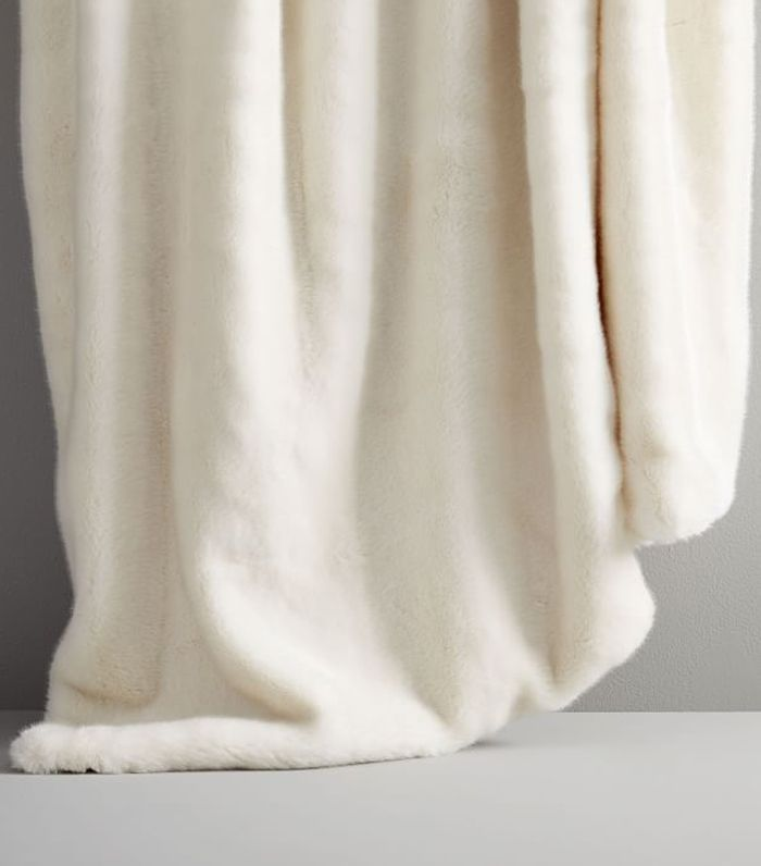 West Elm Faux Fur Arctic Throw
