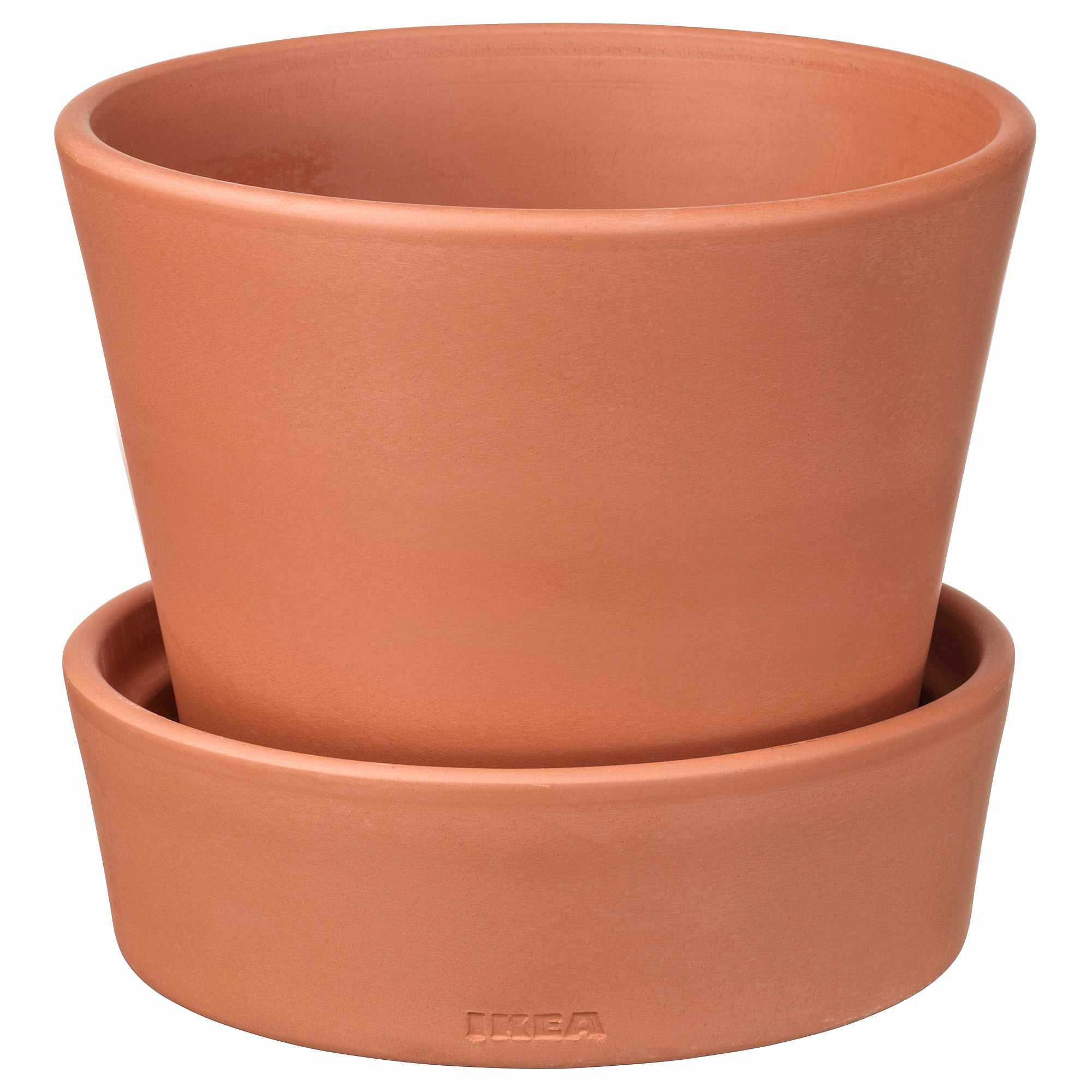 INGEFÄRA Plant Pot with Saucer product.