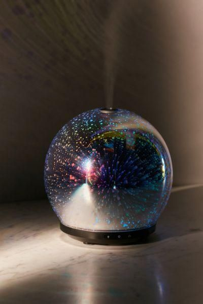 3D LED Gala Essential Oil Diffuser - Multi One Size at Urban Outfitters