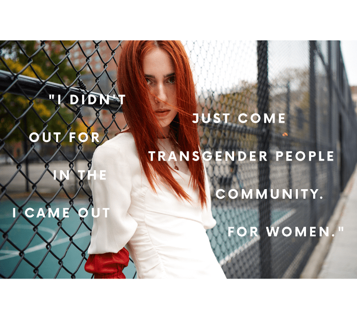 An Exclusive With Fashion Model Teddy Quinlivan