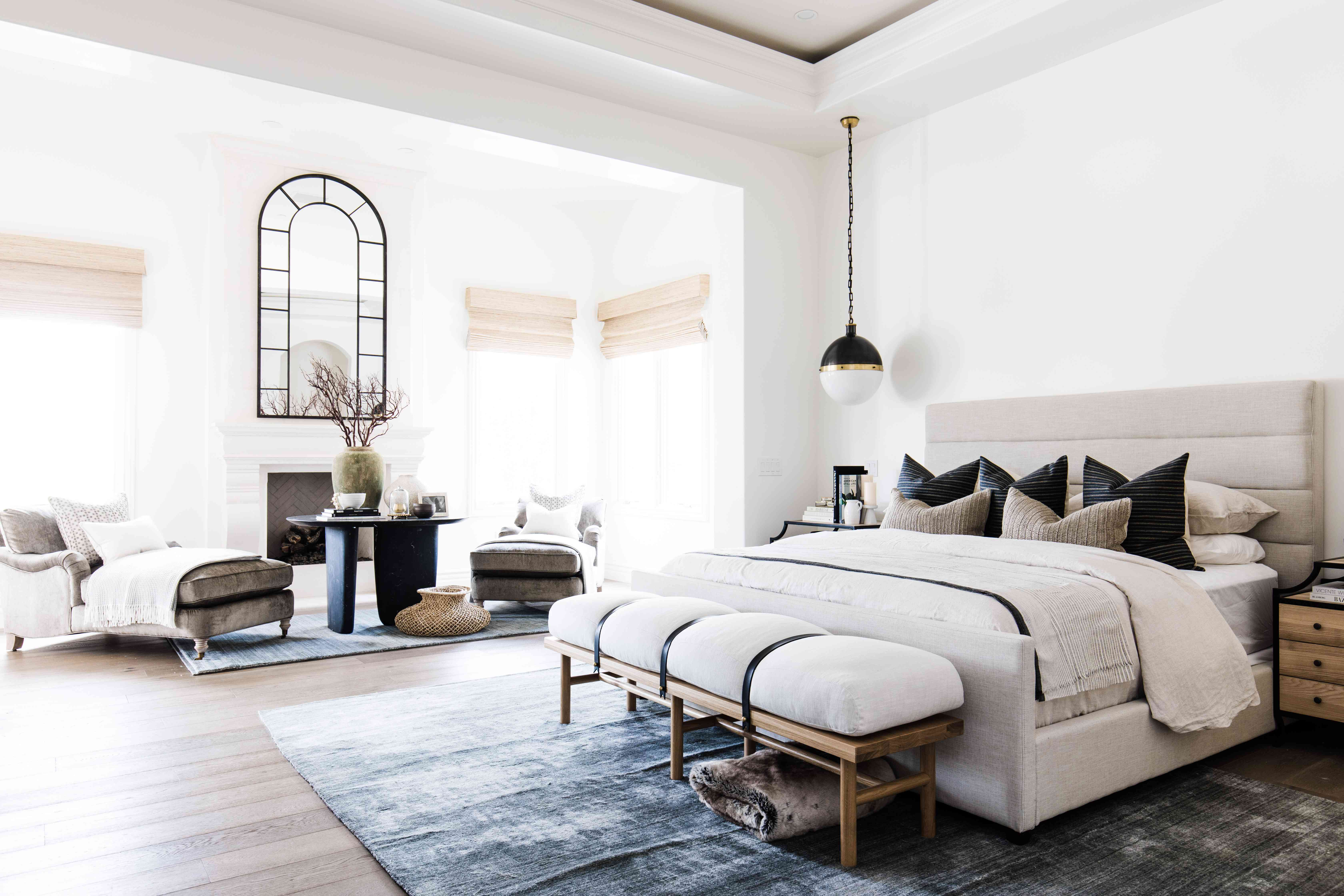 arizona home tour - master bedroom