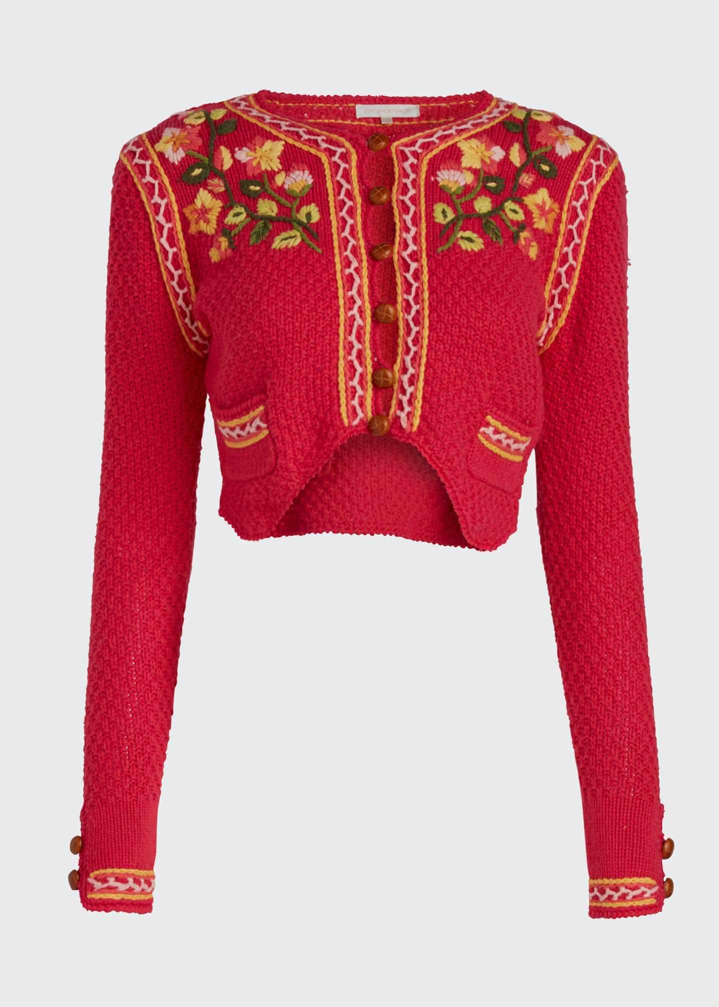 Suéter recortado