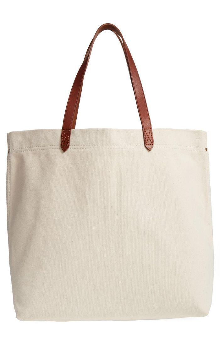 Canvas Transport Tote -