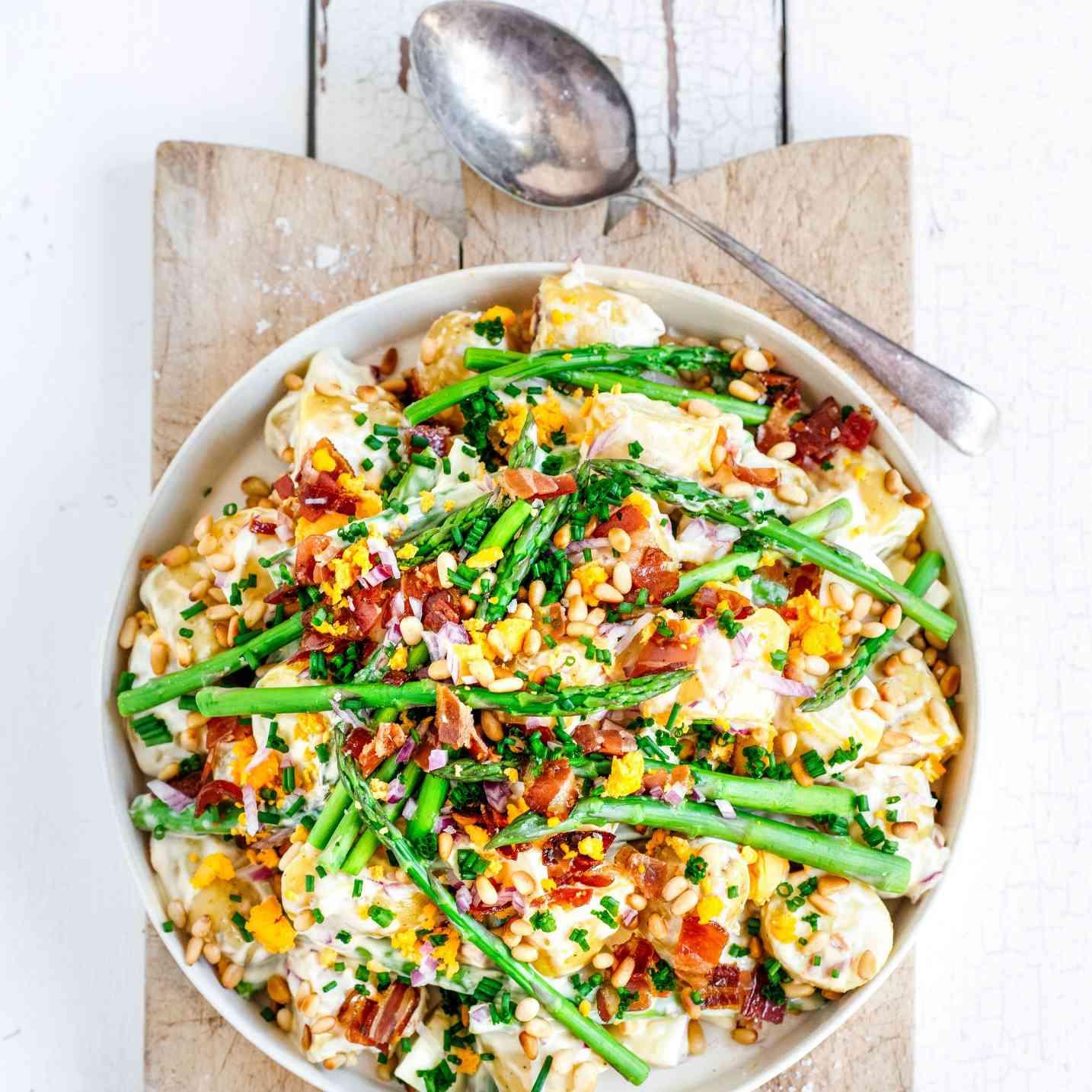 Potato Salad— Easy Asparagus Recipes