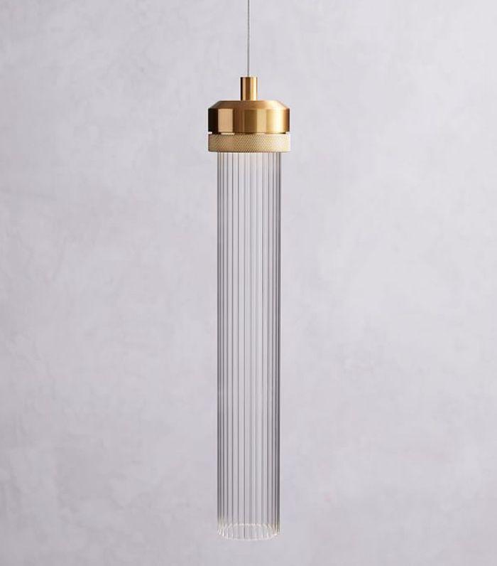 Fluted Cylinder Pendant