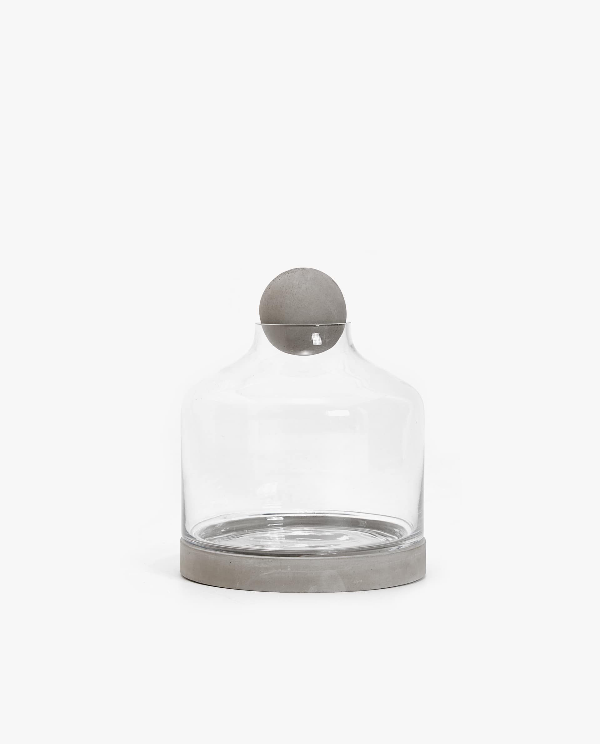 Jar With Cement Base