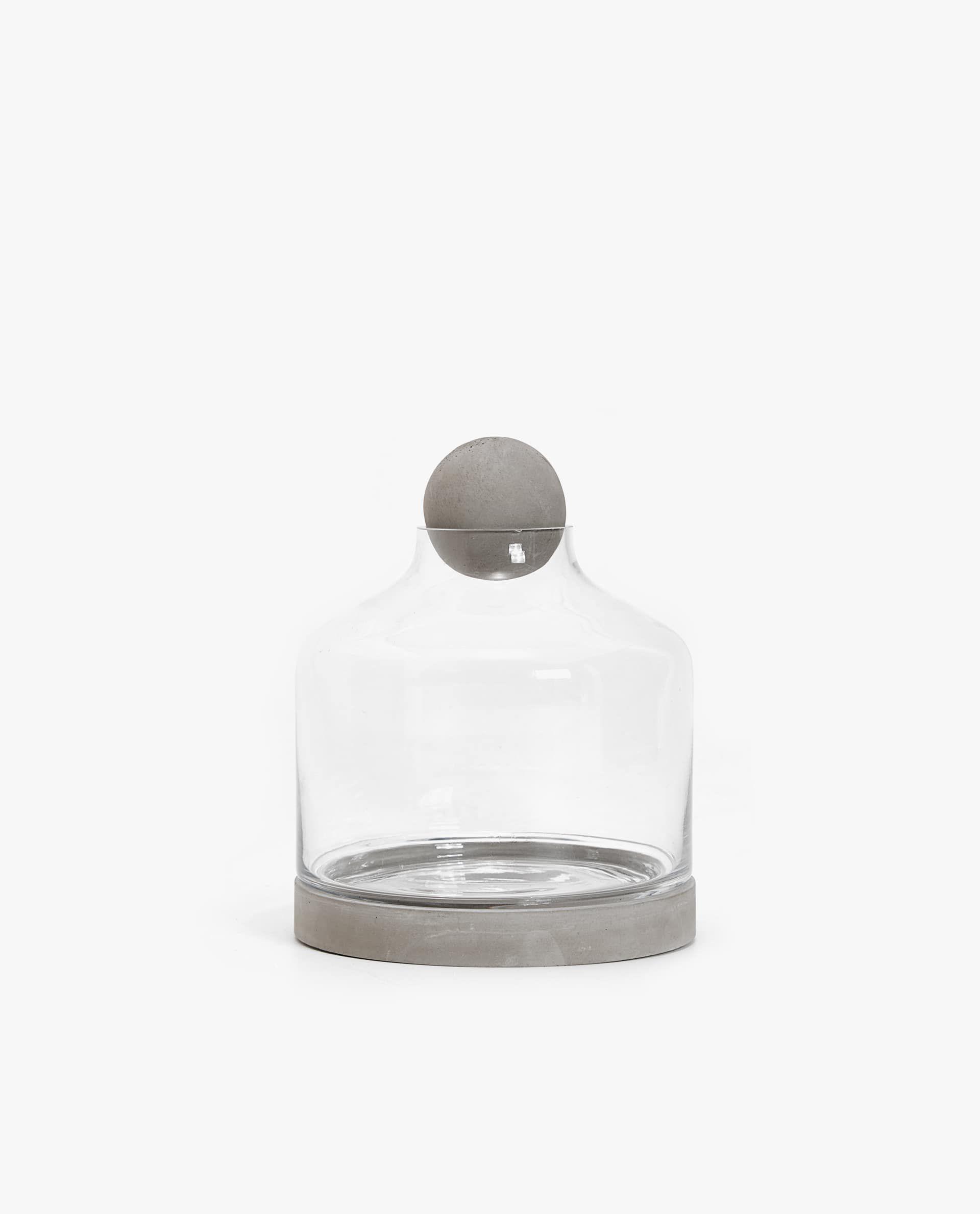 Zara Jar With Cement Base