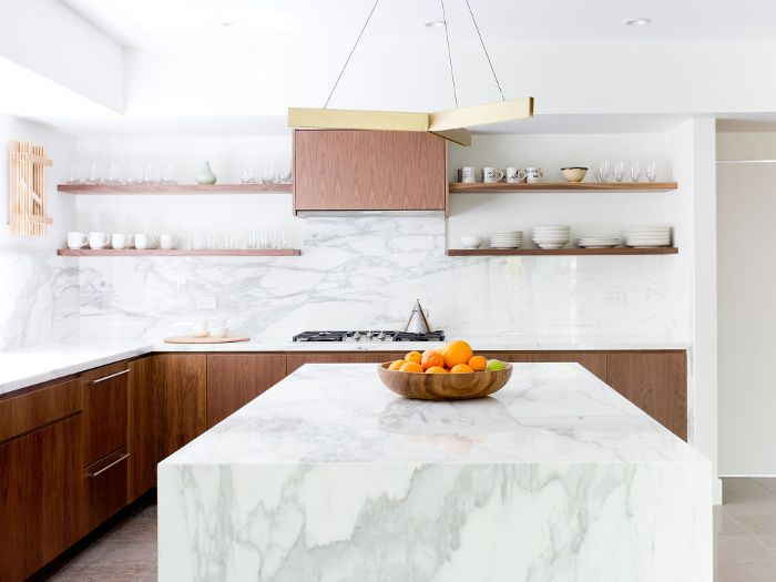 This Hot Kitchen Backsplash Trend Is Cooling Off