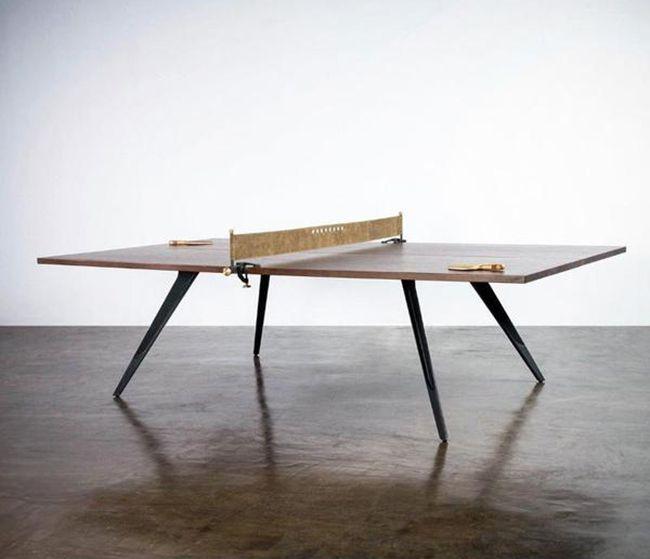 mesa de ping pong artesanal