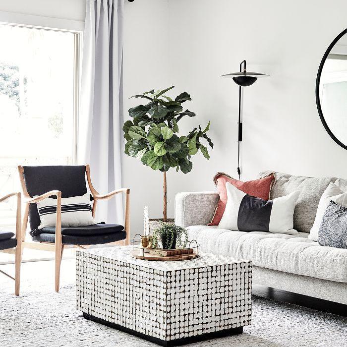 Square Bedroom Interior Design