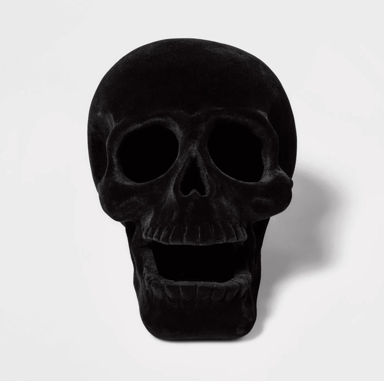 velvet skull