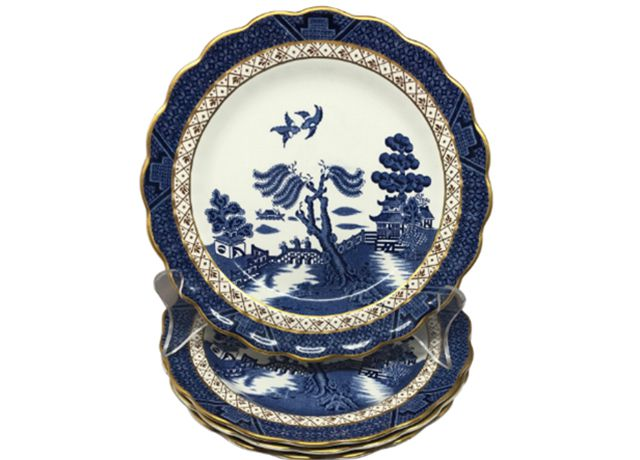 Platos chinoiserie de 1st Dibs Booth