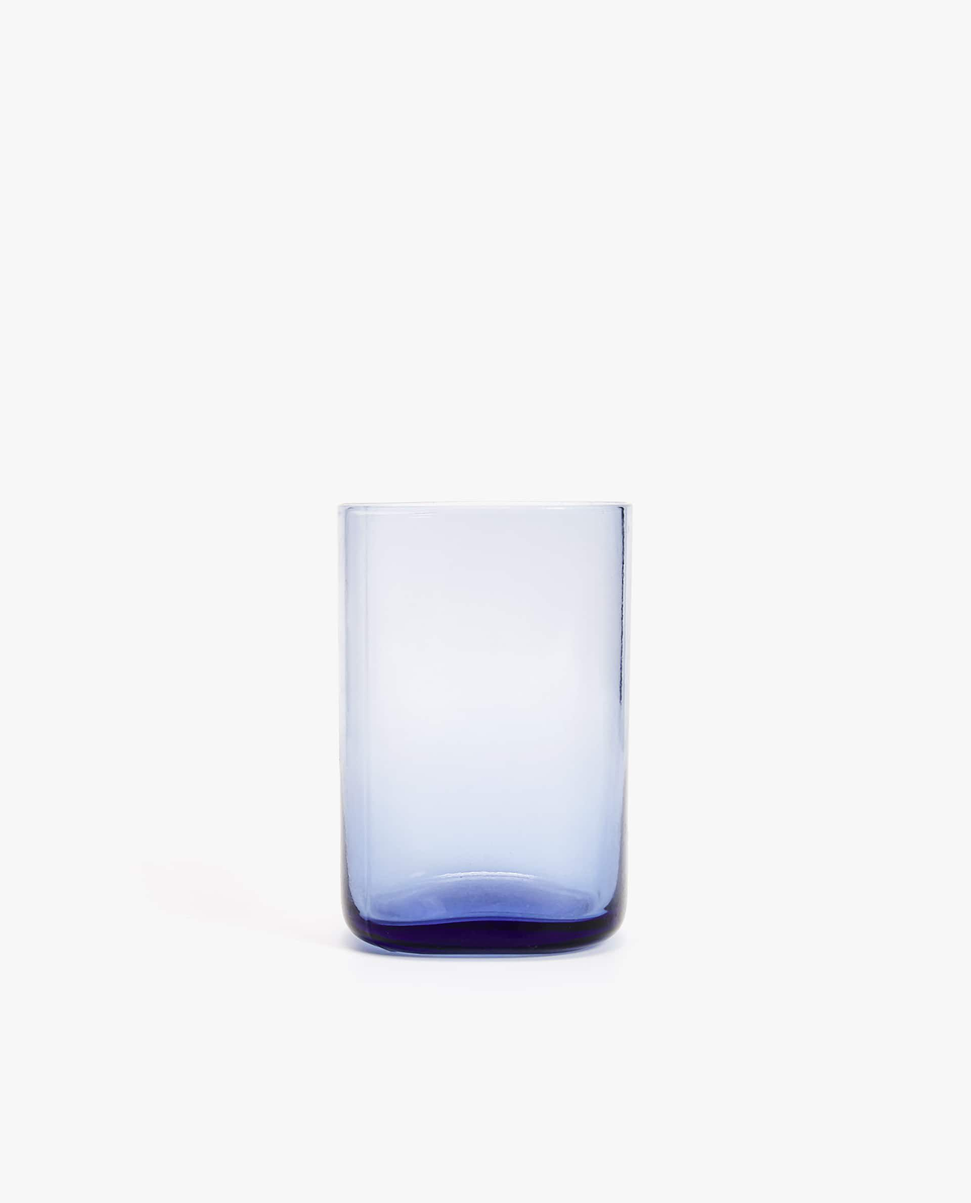 Square Tinted Glass Tumbler