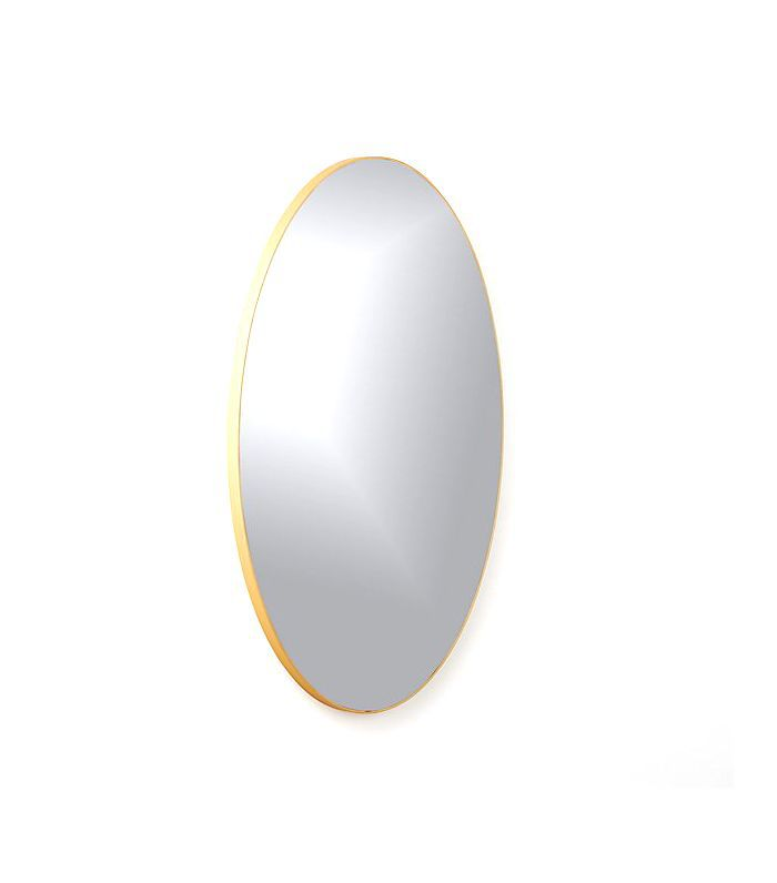 Infinity Brass Oval Wall Mirror 24