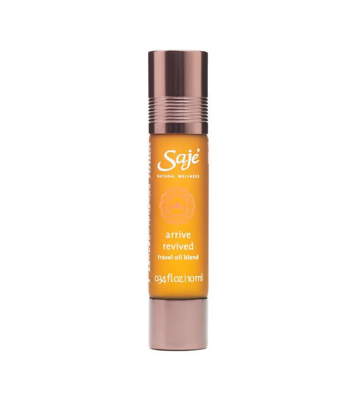 Saje Arrive Revived Travel Oil Blend The Best Travel Accessories for Long Flights
