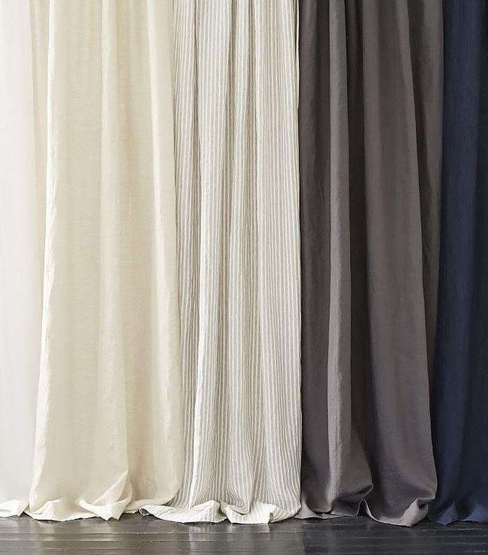 Belgian Linen Curtain + Blackout Panel