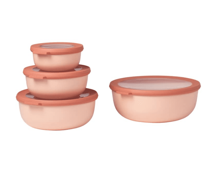 Rosti Mepal Cirqula Set Of 4 Storage Bowls