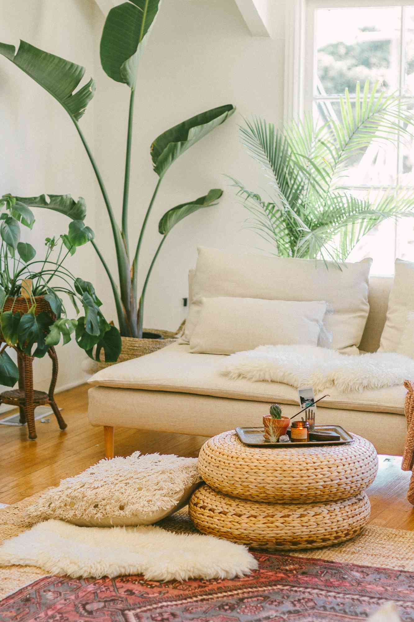 Living room with layers and aromas